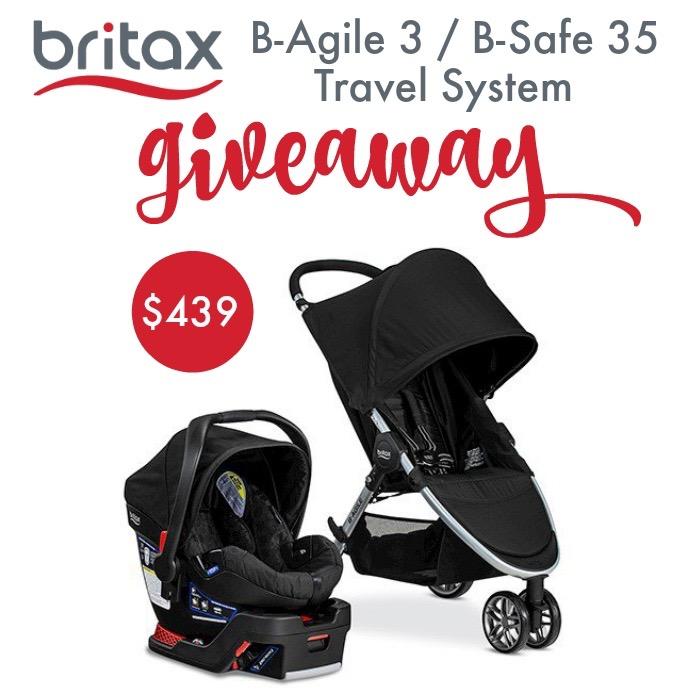 Britax 2016 B Agile 3 B Safe 35 Travel System Giveaway