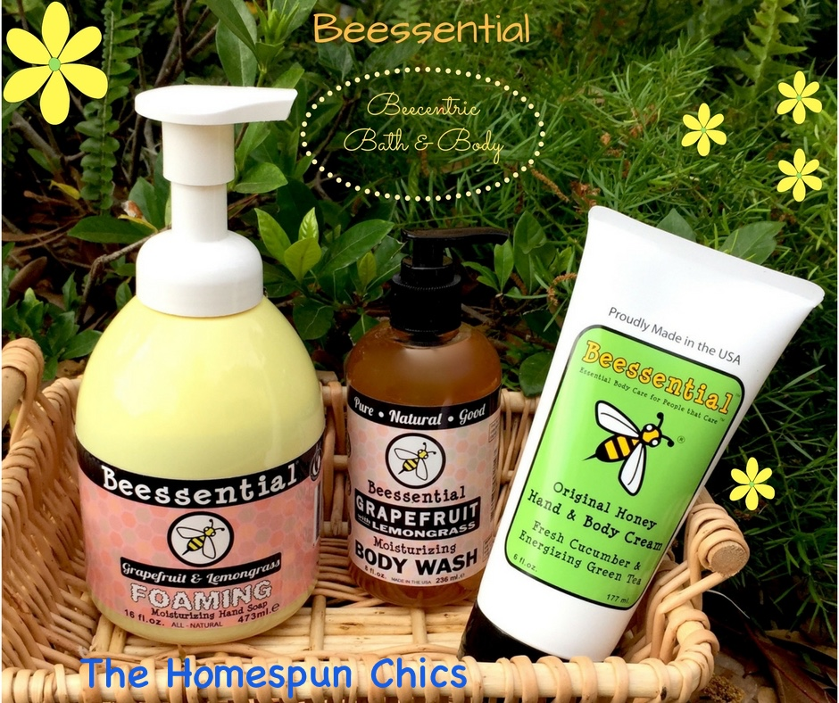 Beessential Natural Body Care Products Review | The Homespun Chics