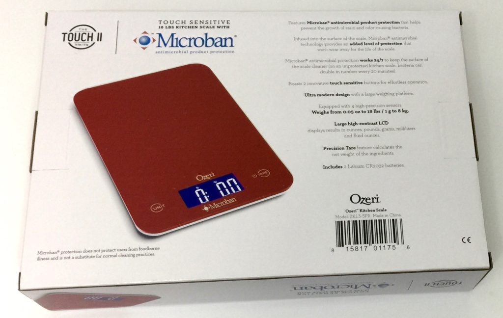 Ozeri Kitchen Scale Review