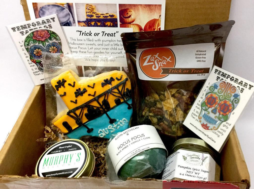 October 2017 my texas market box review the homespun chics the october 2017 my texas market box was perfectly curated for the months trick or treat theme i loved all the edible goodies and the bath bomb will be negle Image collections