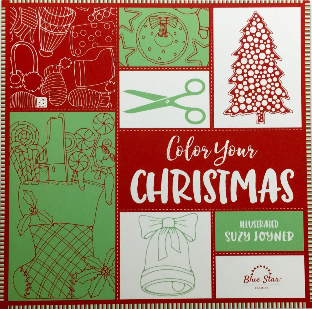 Color Your Christmas A Crafty Adult Coloring Book