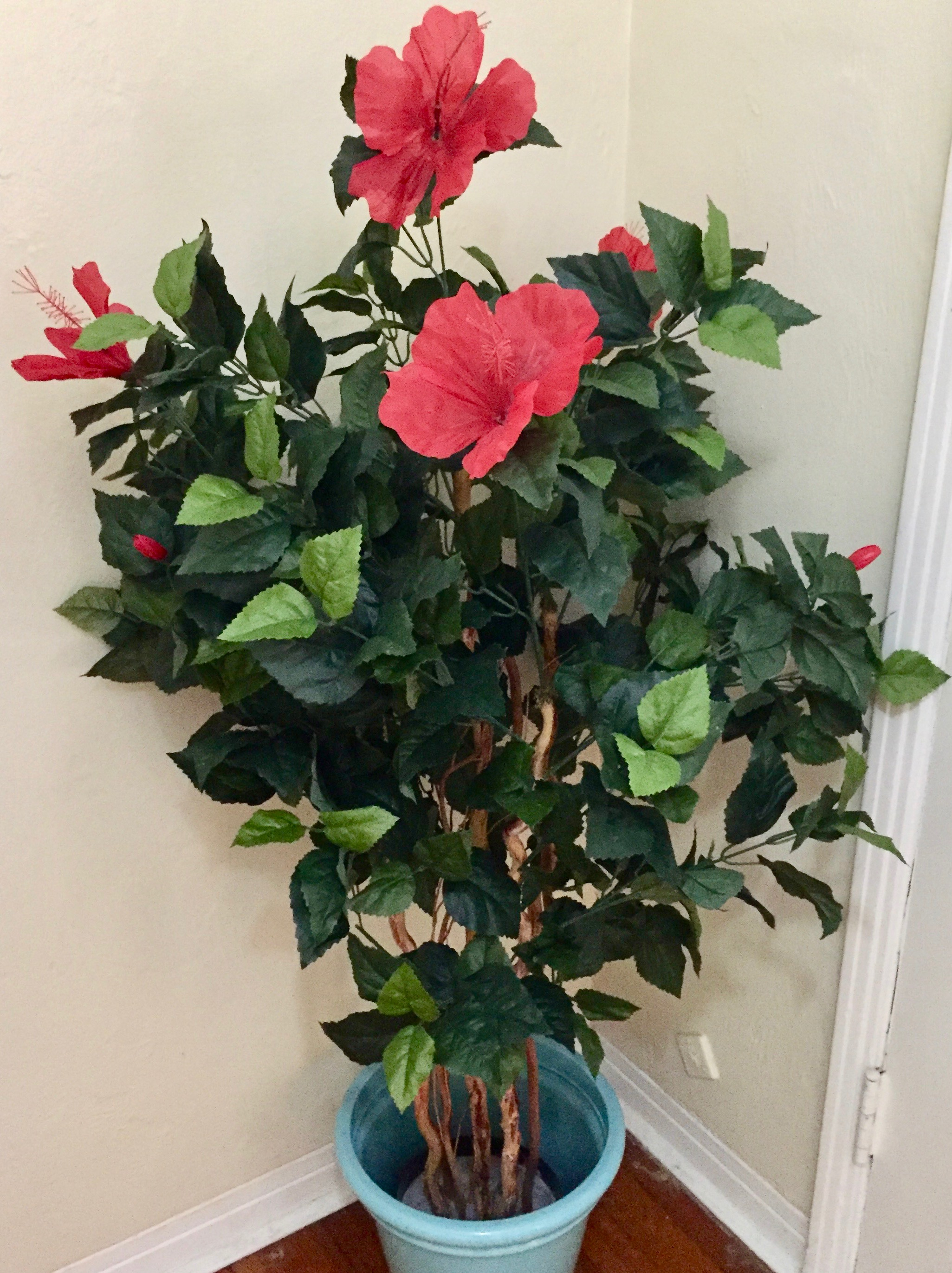 Silk Plants Direct Hibiscus Tree Review The Homespun Chics