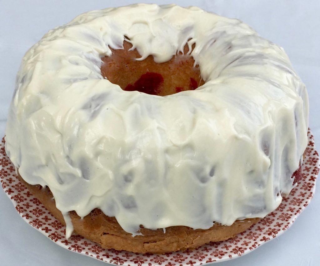 Red Velvet Punch Bowl Cake Recipe