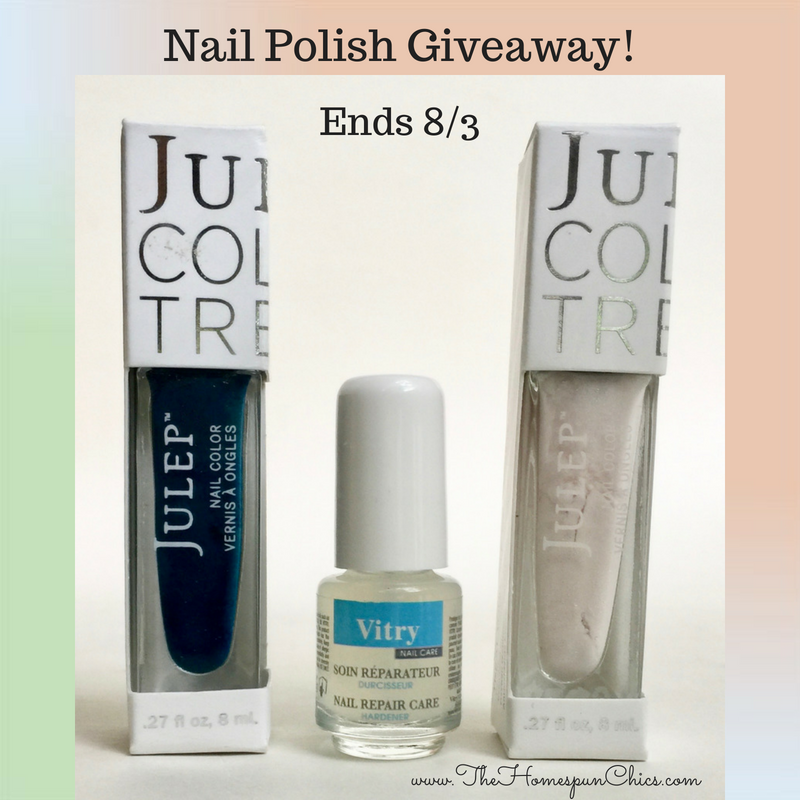 Nail Polish Giveaway! Ends 8/3 | The Homespun Chics