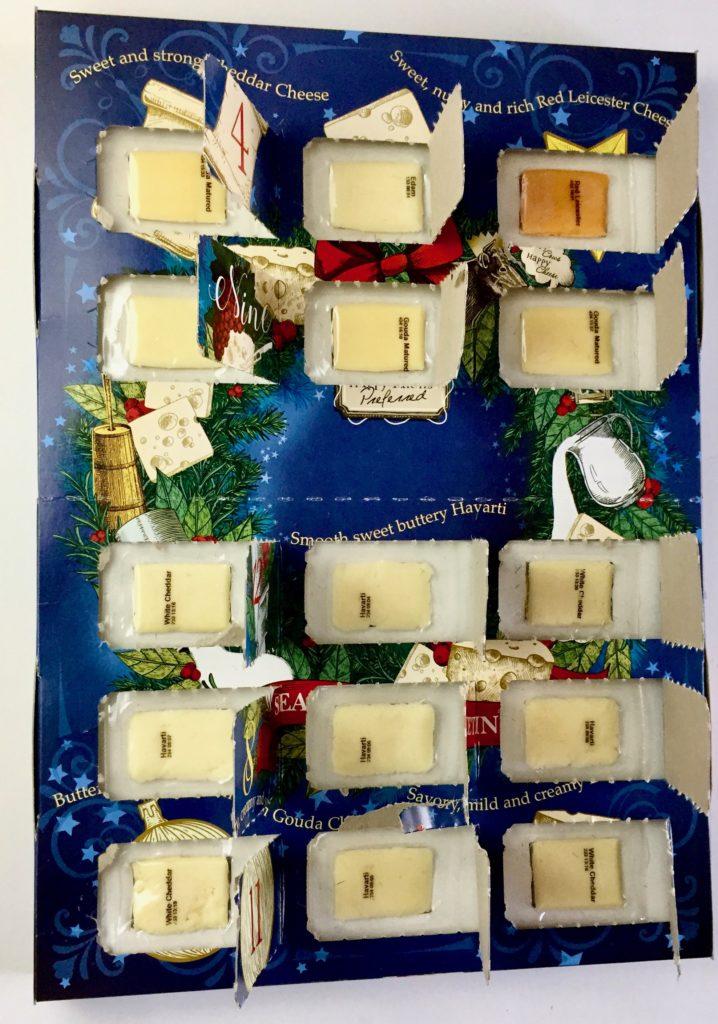 Aldi Cheese Advent Calendar.Aldi 2018 Cheese Advent Calendar Review The Homespun Chics