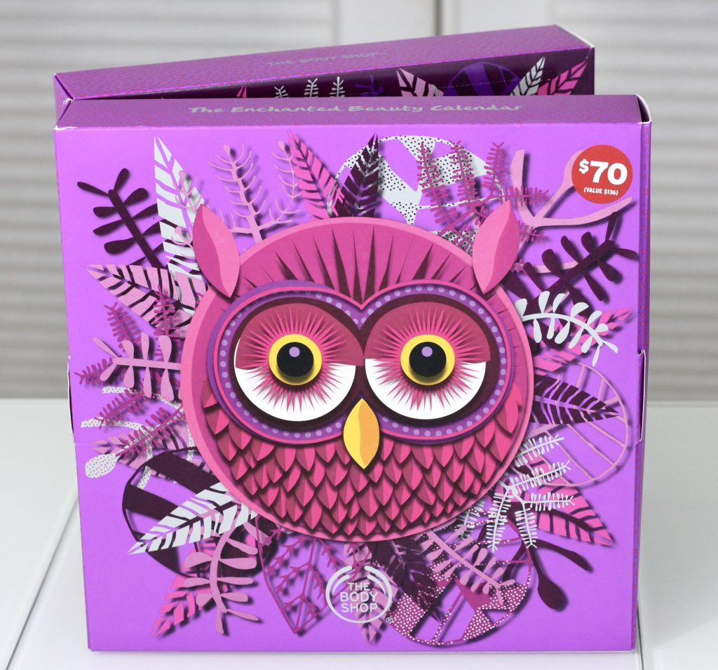 "f234789ff8462 The Body Shop 2018 ""Olivia the Owl"" Advent Calendar Review"